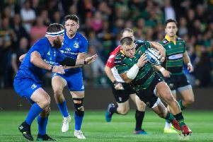 Saints lost to Leinster at the Gardens during pre-season