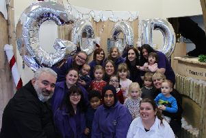 Totstop Day Nursery is celebrating after recieving a 'good' result this week.