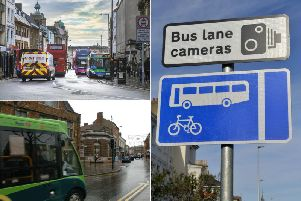 The county council is cracking down on drivers who use bus lanes illegally, starting at The Drapery in Northampton, and in Wellingborough town centre