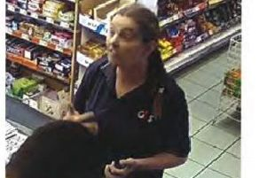 Police want to speak to this woman about the Eastern District shooting. Photo: Northamptonshire Police.