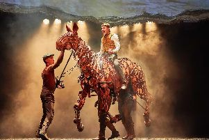 National Theatre, War Horse. Picture by Birgit