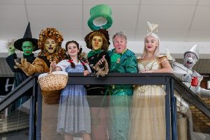The cast of The Wizard of Oz