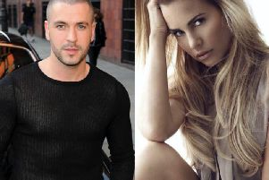 Shayne Ward and Katie Price