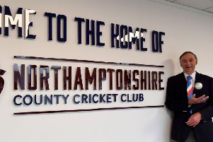 Northants Over-60s and Northampton Saints player Mick Allen will play for England in the Over-70s Ashes in Australia (Pictures: Dave Ikin)