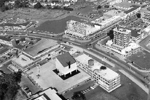 Retro: Northamptonshire from the skies