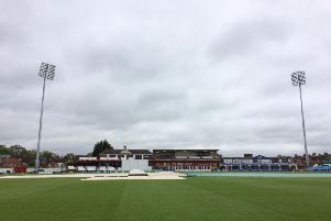 The covers stayed on for the entire four days of the County's scheduled clash with Durham