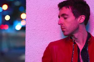 Miles Kane was in great form at the Roadmender on Friday night (Picture: Lauren Dukoff)
