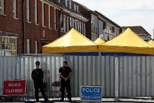 Two Russians charged over Novichok poisoning of Sergei Skripal and Yulia Skripal in Salisbury