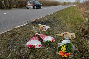 Three people were killed in the crash on the A427 outside Dingley.