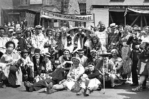 Memories of Raunds carnival in 1951