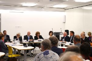 The county council's cabinet met this afternoon at One Angel Square