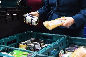More than 1,500 food bank parcels given to children in Northamptonshire earlier this year
