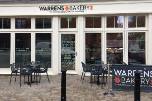 The Warrens Bakery store in Towcester.