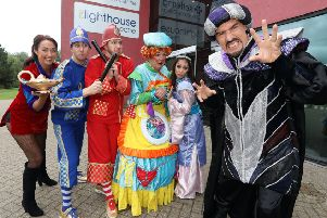 Start Christmas with a bang with Aladdin at the Lighthouse, Kettering