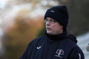 Rothwell Corinthians manager Jim Scott