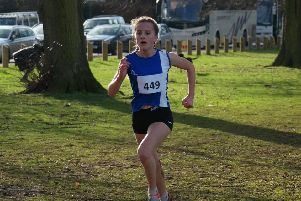 Alice Bates secured a bronze medal for Kettering Town Harriers