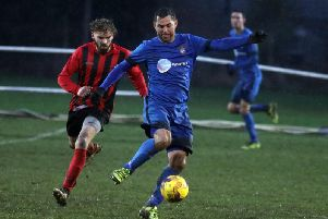 Jason Turner scored from the penalty spot as Desborough Town enjoyed a 3-0 home win over Leicester Nirvana on Tuesday night