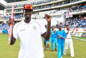 Jason Holder has joined Northants