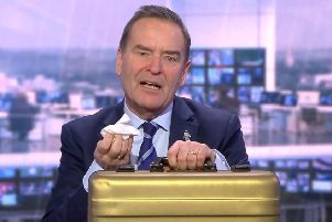 Debbie's name was read out live on air by Soccer Saturday presenter Jeff Stelling.