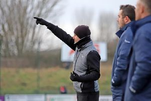 Kettering Town manager Marcus Law. Picture by Peter Short