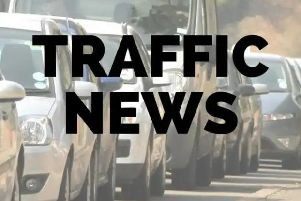 Three vehicles were involved in the collision, according to Highways
