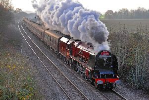 Iconic steam train to ride through Kettering and Corby this weekend