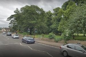 Thornton Park, Kingsthorpe near the Cock Hotel junction, where the incident took place.