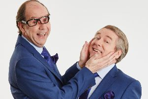 Ian Ashpitel and Jonty Stephens bring An Evening of Eric & Ern to Northampton