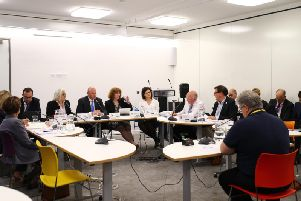 Councillors from the county council and district and boroughs met this week