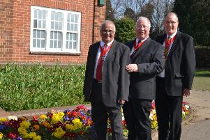 Shashi Dholakia, Cllr Tom Partridge-Underwood and Malcolm Waters have had the civic honour bestowed on them by Wellingborough Council.