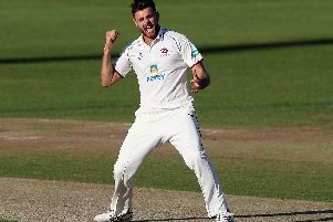 Nathan Buck was in the wickets