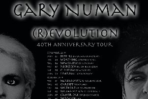 Gary Numan to make Roadmender return for (R)evolution tour