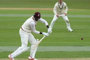 Jason Holder made his Northants debut in the draw against Middlesex