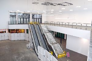 We had exclusive access to the inside of the complex earlier this year