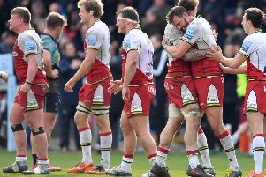 Saints secured a crucial win at Harlequins on Saturday afternoon