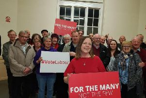 Clare Pavitt has been chosen as Labour's candidate for the Kettering seat