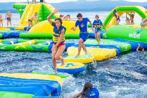 Flipout Aqua park said it has something for everyone, including individuals, groups, families, adults and children.