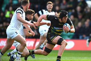 Alex Moon returns for Saints at Sandy Park