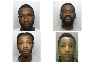 Clockwise from top left: Ngange Sowe, Babacarr Sylva, Clever Makande and Kausu Ceesay