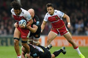 Lewis Ludlam impressed against Exeter last Saturday