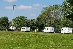 Travellers have moved on to West Glebe Park NNL-190523-123133005