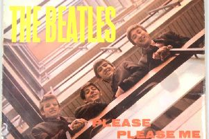 The discovered Beatles record.