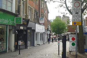 Big name retailers have been disappearing from Kettering's high street in recent years.