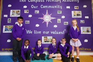 Compass Primary Academy has been given a grade of requires improvement.
