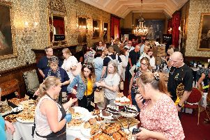 Thousands visited the food fair.