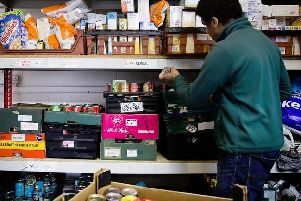Food banks have appealed for donations.