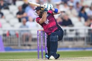 Northants batsman Rob Keogh