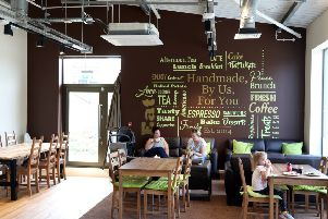 The Good Bean coffee shop on Priors Hall
