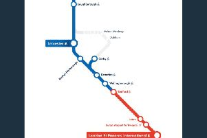 All trains to and from the capital are affected