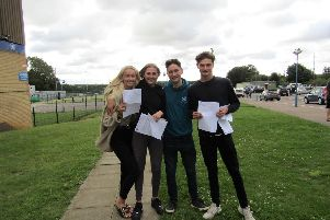 Emma Wilson, Katie Gallon, Harry James and Sam Gerry.